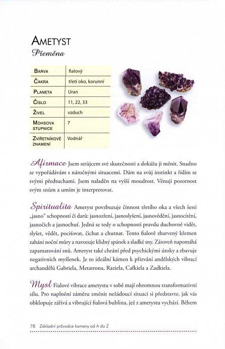 Náhled Základní kniha krystalů, minerálů a drahých kamenů