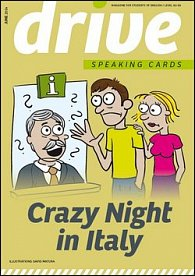 Drive Speaking Cards Crazy Night in Italy