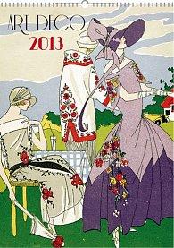 Kalendář 2013 nástěnný - Art Deco, 33 x 46 cm