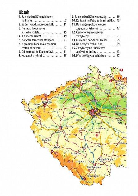 Náhled Rodinné toulky : Nejkrásnější výlety lanovkou - 40 výletů s lanovkou, pohodlné pěší trasy, mapy oblastí, popisy zajímavých míst