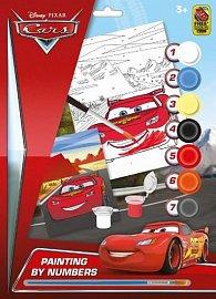 Auta - Malování dle čísel A4