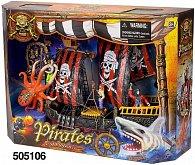Pirátská loď sada