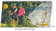Kalendář 2015 - Tipy na cyklovýlety - stolní