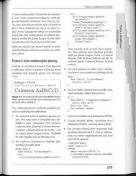 Náhled HTML5 a CSS3