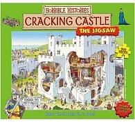 Puzzle popraskaný hrad