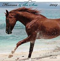 Kalendář 2014 - Koně a moře - nástěnný poznámkový (ANG, NĚM, FRA, ITA, ŠPA, HOL)