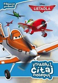 Lietadlá Filmový príbeh Vyfarbuj, čítaj, nalepuj