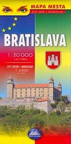 Bratislava - mapa mesta