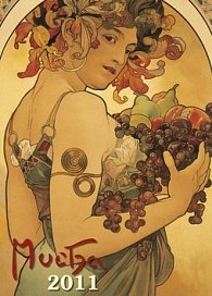 Kalendář 2011 - Alfons Mucha (33x46) nástěnný