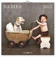 Kalendář 2015 - Babies Věra Zlevorová - nástěnný (CZ, SK, HU, PL, RU, GB)