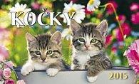 Kočky - stolní kalendář 2015