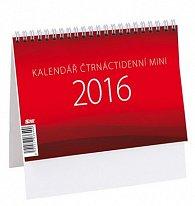 Kalendář stolní 2016 - MINI čtrnáctidenní