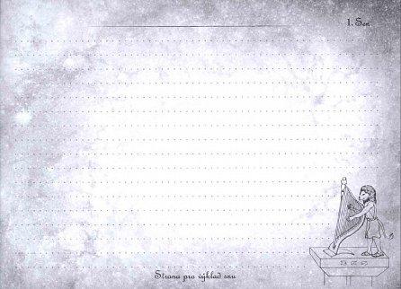 Náhled Snílek - Zápisník snů