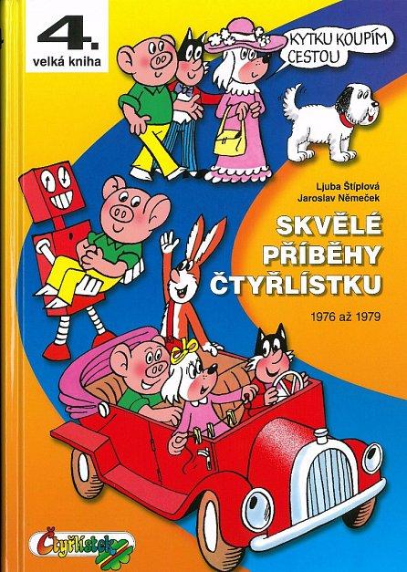 Náhled Skvělé příběhy Čtyřlístku z let 1976 až 1979