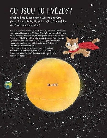 Náhled Kočičí průvodce noční oblohou - Pozoruj hvězdy s kocourem Felixem!