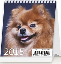 Kalendář stolní 2015 - Mini Puppies
