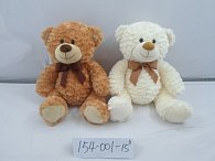 Medvěd plyšový hnědý 38 cm