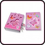 Deník v uzamykacím boxu - Motýlek
