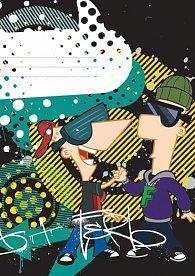 Sešit - Phineas & Ferb Boys/A5 nelinkovaný 40 listů