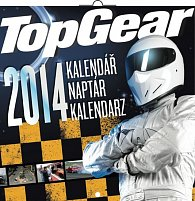 Kalendář 2014 - Top Gear - nástěnný poznámkový (ČES, MAĎ, POL)