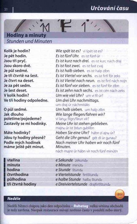 Náhled Němčina - konverzace se slovníkem a gramatikou