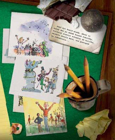 Náhled Čarokrásnické světy Roalda Dahla