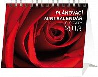 Kalendář 2013 stolní - Plánovací s citáty Praktik, 16,5 x 13 cm