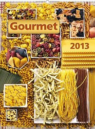 Kalendář 2013 nástěnný - Gourmet, 48 x 64 cm
