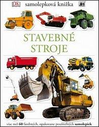 Samolepková knižka Stavebné stroje