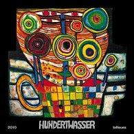Friedensreich Hundertwass - ART 2010 - nástěnný kalendář