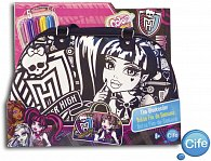 Color me mine kabelka víkendová Monster high