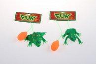 Skákající zvířátko - žába skokánek, ropuška