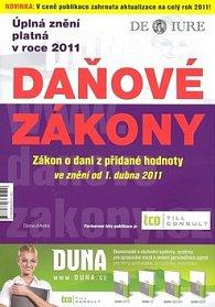 Daňové zákony 2011 Daň z přidané hodnoty