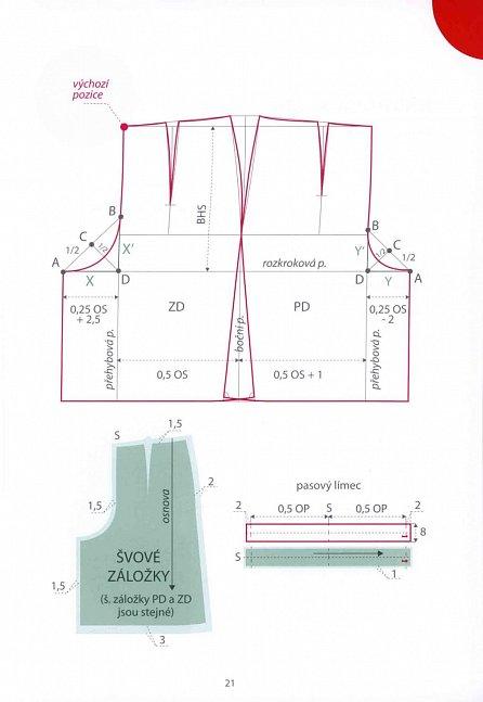 Náhled Střihněte si na šaty - konstrukce oděvních střihů