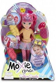 Moxie Girlz s příčesky z cukrové vaty, 2 druhy