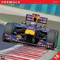 Kalendář 2011 - Formule - Jiří Křenek (30x60) nástěnný poznámkový