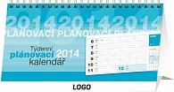 Kalendář 2014 - Plánovací řádkový - stolní