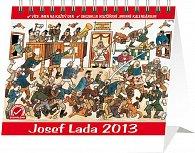 Kalendář 2013 stolní - Josef Lada V hospodě Praktik, 16,5 x 13 cm