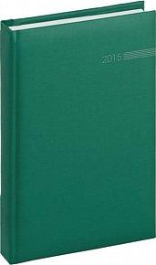 Diář 2015 - Capys - Denní A5, zelená (CZ, SK, GB, DE)