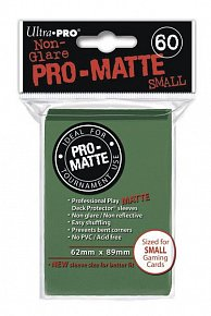 UltraPRO: 60 DP PRO Matte obaly malé  - zelená