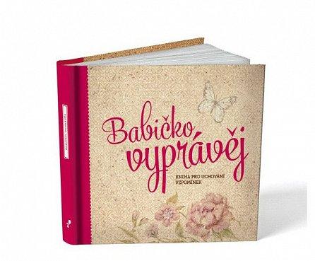 Náhled Babičko, vyprávěj - Kniha pro uchování vzpomínek
