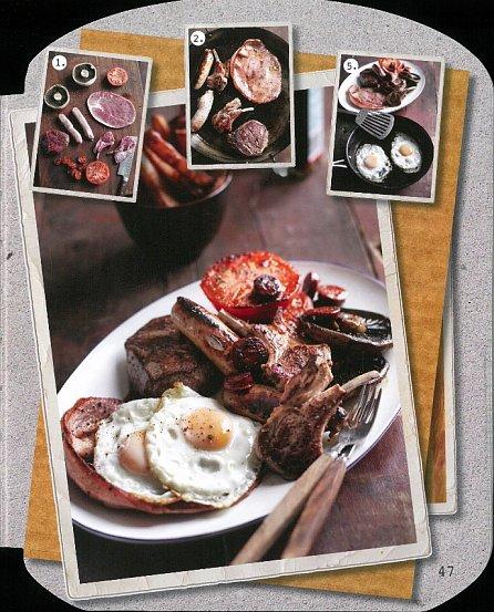 Náhled Kuchařka pro chlapy - Vzmužte se v kuchyni