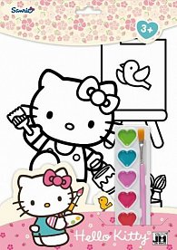 Hello Kitty - Omalovánkové sety A4
