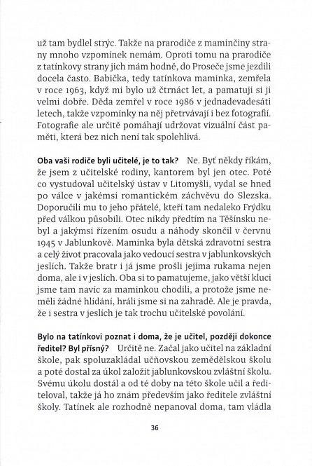 Náhled Věda života - Rozhovory s profesorem Jiřím Drahošem