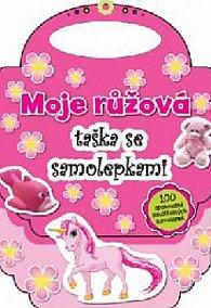 Moje růžová taška se samolepkami