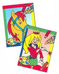 Balíček 2 ks Princezné a víly Kone a poníky