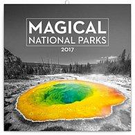 Kalendář poznámkový 2017 - Magické národní parky