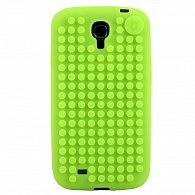 Samsung S4 Pixel Case jablečná zelená