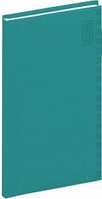 Diář 2016 - Tucson-Ontario - Kapesní, tyrkysová,  9 x 15,5 cm
