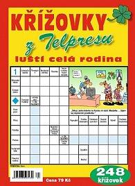 Křížovky z Telpresu luští celá rodina - 248 křížovek 1/2015